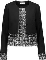 Bailey 44 Joan jersey and bouclé-tweed jacket