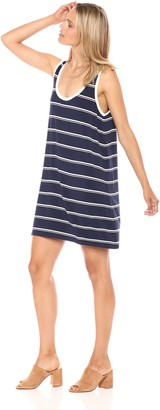 BB Dakota Women's Viniana Striped Soft Knit Dress