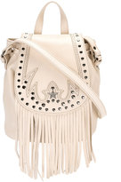 Just Cavalli fringed shoulder bag - women - Calf Leather - One Size