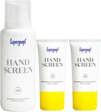 Supergoop! Handscreen Broad Spectrum SPF 40 Sunscreen Set