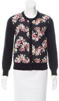 Dolce & Gabbana Floral Print Cashmere-Blend Cardigan