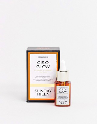 Sunday Riley CEO Glow Vitamin C and Turmeric Face Oil 15ml