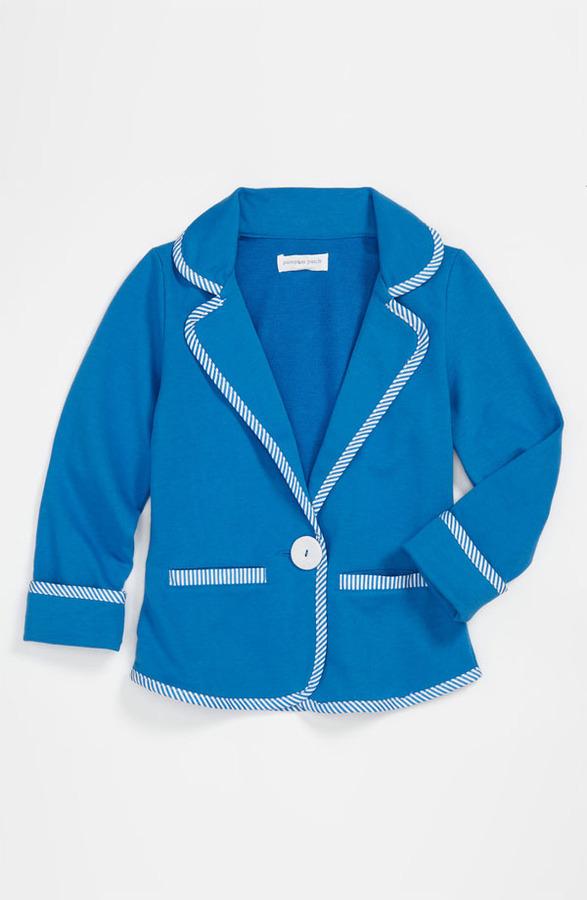 Pumpkin Patch 'Lagoon' Knit Blazer (Little Girls & Big Girls)