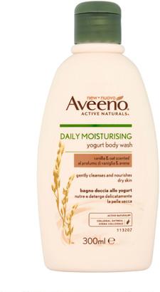Aveeno Daily Moisturising Vanilla & Oats Body Wash 300Ml