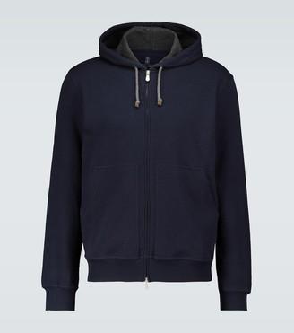 Brunello Cucinelli Zipped hooded sweatshirt