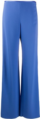 Emporio Armani Low-Waist Crepe Trousers