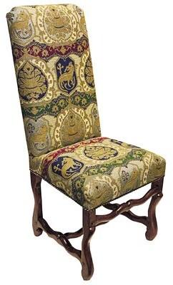 Toscano Design Chateau DuMonde Coat Side Chair Design