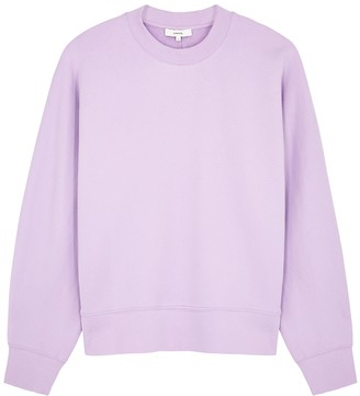 Vince Lilac cotton sweatshirt