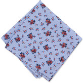 Bar III Men's Floral Glen Plaid Pocket Square, Only at Macy's
