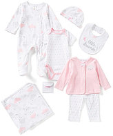 Starting Out Baby Girls Newborn-6 Months Cloud Motif 6-Piece Layette Set