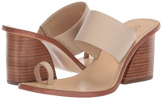 42 GOLD Eedie (Beige Leather) Women's Shoes