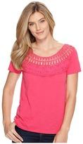 Roper 0892 Slub Jersey Short Sleeve Tee Women's T Shirt