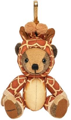 Burberry Thomas bear giraffe charm