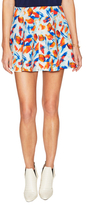 BCBGeneration Printed Jersey Mini Skirt