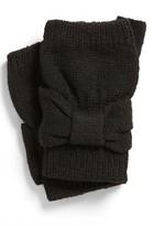 David & Young Bow Fingerless Gloves (Juniors)
