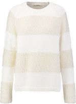 J Brand Rodeo Striped Knitted Sweater