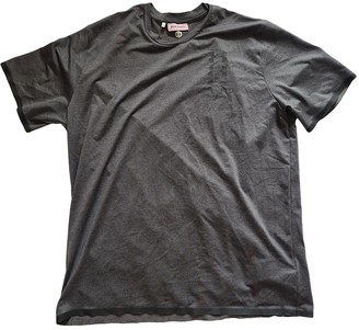 Palm Angels Grey Synthetic T-shirts