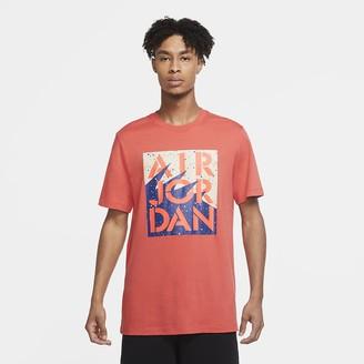 Nike Men's T-Shirt Jordan Stencil