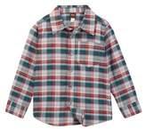 Tea Collection Joji Plaid Shirt (Toddler, Little Boys, & Little Boys)