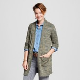 Mossimo Women's Open Layering Cardigan Olive Juniors')