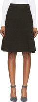 Proenza Schouler Black Technical Honeycomb Knit Skirt