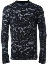 Lanvin intarsia knit jumper