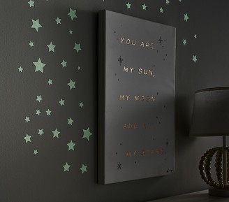 Pottery Barn Kids Wallpops Glow-in-the-Dark Stars Decals