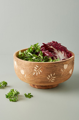 Anthropologie Rosemary Serving Bowl By in Brown Size PASTA