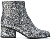 Marc Jacobs 'Camilla' glitter ankle boots - women - PVC/Leather - 36