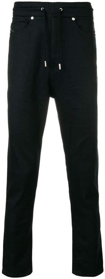 Diesel Black Gold drawstring regular trousers