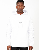 Billionaire Boys Club Vehicles Raglan Pop-Over Hoodie White