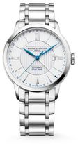 Baume & Mercier Classima 10273 Dual Time Stainless Steel Bracelet Watch