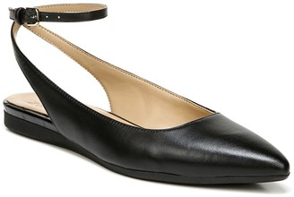 Naturalizer Hamilton Ankle Strap Flat - Wide Width Available
