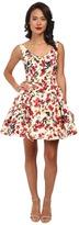 Unique Vintage Fit N Flare Claudette Dress