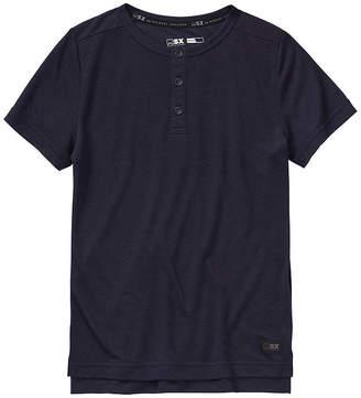 MSX BY MICHAEL STRAHAN Msx By Michael Strahan Boys Short Sleeve Henley Shirt - Big Kid