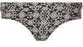 Dorothy Perkins Womens *Metallic Geometric Print Bikini Bottoms- Fl Multi