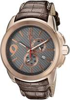 Jivago Men's JV1512 Gliese Analog Display Swiss Quartz Brown Watch
