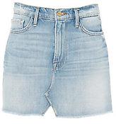 Frame Split Front Mini Skirt