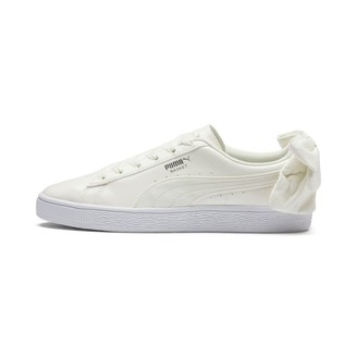 Puma Basket Suede Bow Womens Sneakers