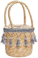 Joe Browns Womens Tassel Bucket Basket Bag Brown