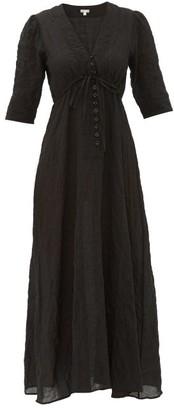 Belize - Manon Cotton-blend Dress - Black