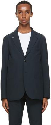Nanamica Navy Wool Club Blazer