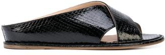 Gabriela Hearst open-toe ballerina shoes