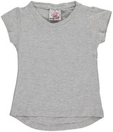 "Real Love Little Girls' Toddler ""Stretch Flared"" V-Neck T-Shirt"
