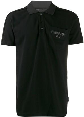 Philipp Plein Logo Pocket Polo Shirt
