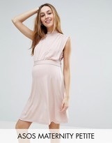 ASOS Maternity - Nursing ASOS Maternity PETITE NURSING High Neck Mini Dress