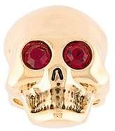 Moschino gem eye skull ring
