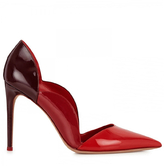 Valentino Scalloped Leather Pump