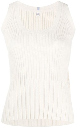 McQ Ribbed Knit Tank Top