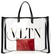 Valentino Garavani - Vltn Pvc Tote Bag - Womens - Clear